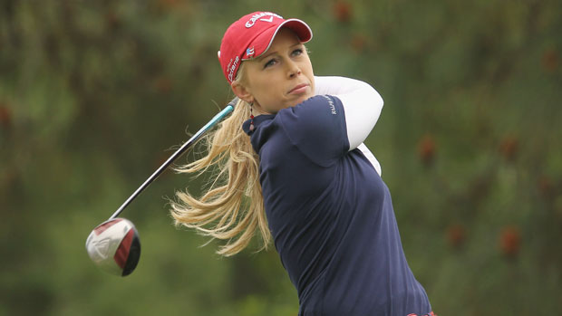 Morgan Pressel third round 2011