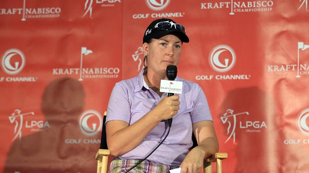 Lindsey Wright at the 2012 Kraft Nabisco Championship