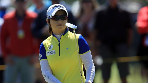 Eun-Hee Ji at the Kraft Nabisco Championship