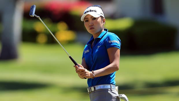 I.K.Kim at the 2012 Kraft Nabisco Championship