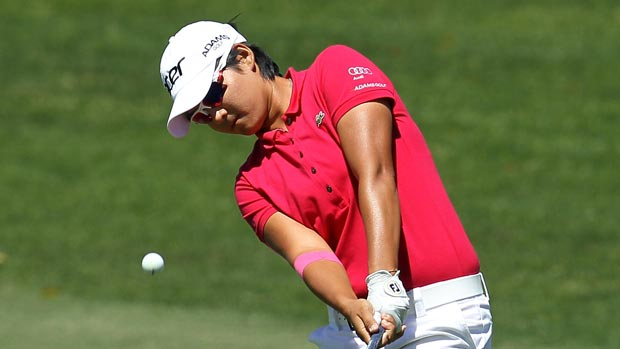 Yani Tseng at the Kraft Nabisco Championship
