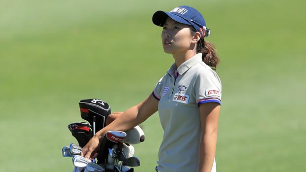 Sun Young Yoo at the Kraft Nabisco Championship