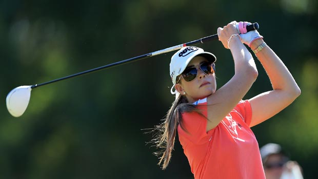 Paula Creamer at the 2012 Kraft Nabisco Championship