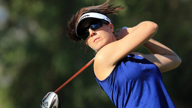 Sandra Gal at the 2012 Kraft Nabisco Championship
