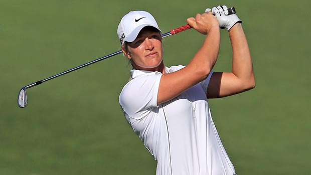Suzann Pettersen at the 2012 Kraft Nabisco Championship