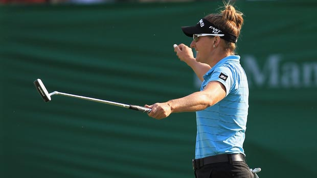 Brittany Lang during the final round of the 2012 Manulife Financial LPGA Classic