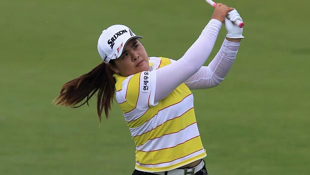 Inbee Park during the final round of the 2012 Manulife Financial LPGA Classic