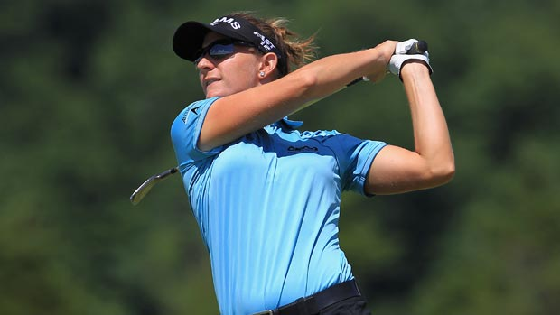 Brittany Lang during the second round of the 2012 Manulife Financial LPGA Classic