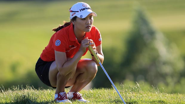 So Yeon Ryu during the second round of the 2012 Manulife Financial LPGA Classic