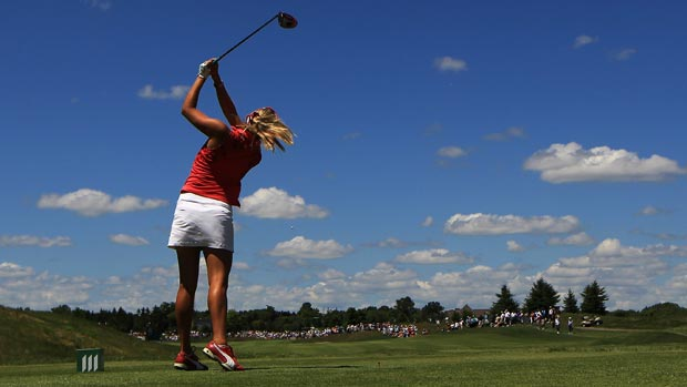 Lexi Thompson during the second round of the 2012 Manulife Financial LPGA Classic