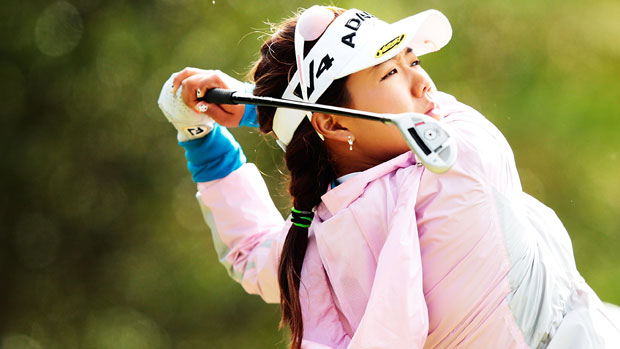 Jenny Shin during the final round of the Mizuno Classic