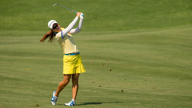 Hee Young Park during the First Round of the 2012 Navistar LPGA Classic