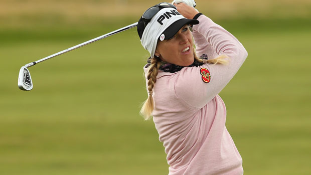 Carin Koch during the final day at the RICOH Women's British Open
