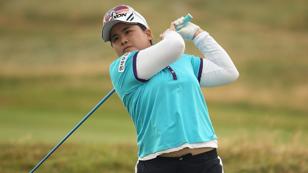 Inbee Park during the final day at the RICOH Women's British Open