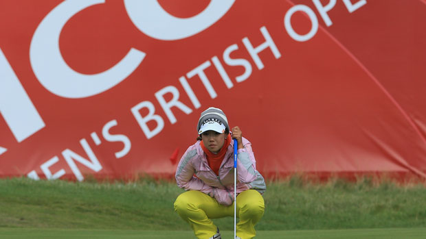 Jenny Shin during the final day at the RICOH Women's British Open