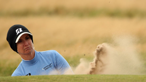 Karrie Webb during the final day at the RICOH Women's British Open
