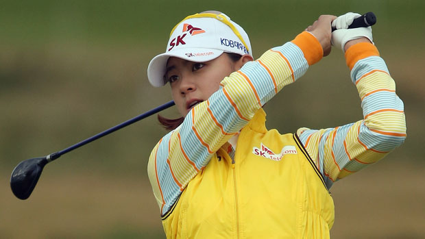 Na Yeon Choi during the second round at the RICOH Women's British Open