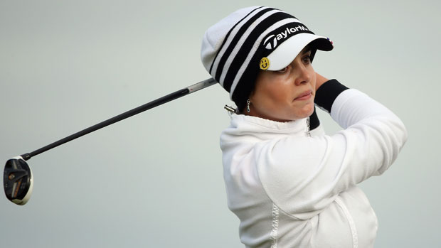 Beatriz Recari during the second round at the RICOH Women's British Open
