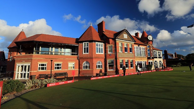 Clubhouse at Royal Liverpool Golf Club