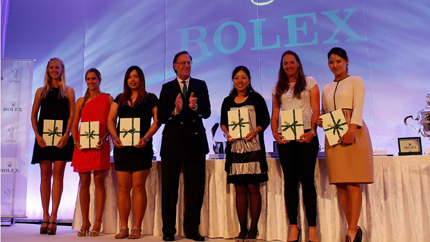 2012 Rolex First Time Winners take the stage