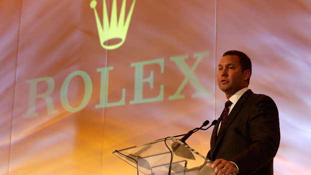 Mike Whan speaks during the 2012 Rolex Awards Celebration