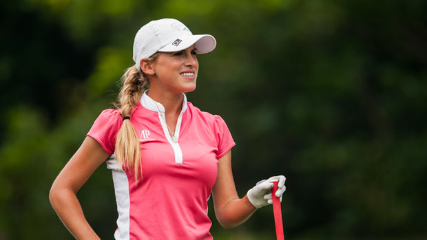 Belen Mozo during the Third Round of the 2012 Sunrise LPGA Championship presented by Audi