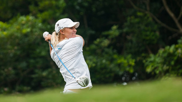 Anna Nordqvist during the Third Round of the 2012 Sunrise LPGA Championship presented by Audi