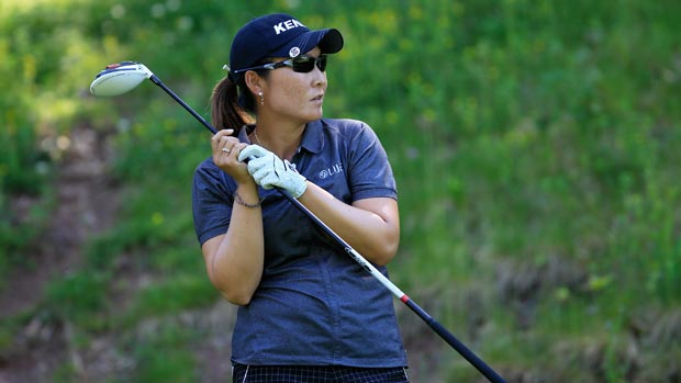 Candie Kung during the Sybase Match Play Championship final round
