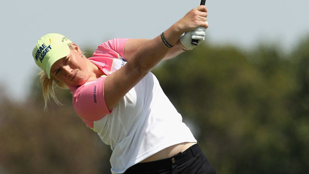 Brittany Lincicome at the ISPS Handa Women's Australian Open