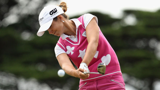 Beatriz Recari at the ISPS Handa Women's Australian Open