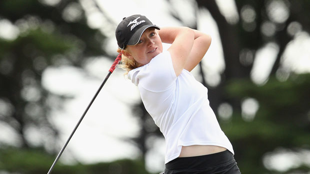 Stacy Lewis at the ISPS Handa Women's Australian Open