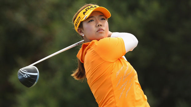 Jenny Shin at the ISPS Handa Women's Australian Open