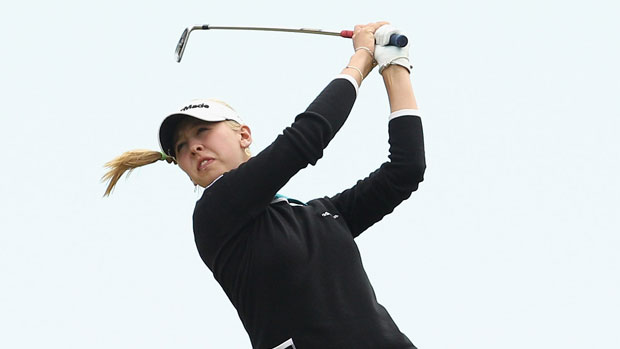 Jessica Korda at the ISPS Handa Women's Australian Open
