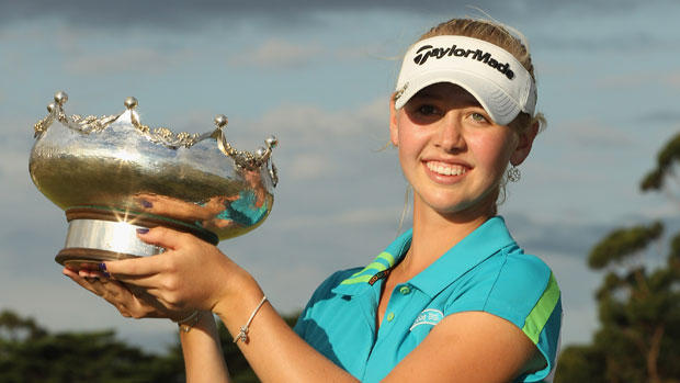 Jessica Korda wins the ISPS Handa Women's Australian Open