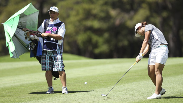 Lydia Ko during final round at ISPS Handa Women's Australian Open.