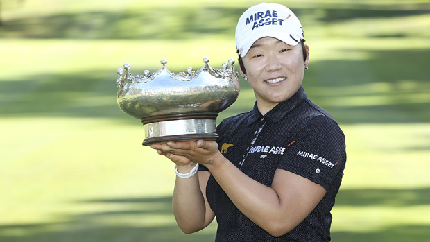Jiyai Shin wins the ISPS Handa Women's Australian Open