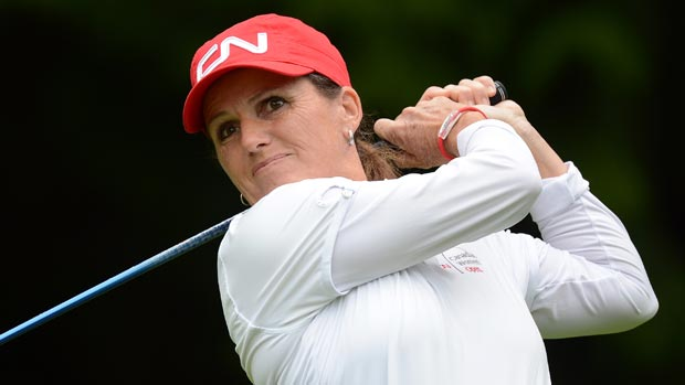 Lorie Kane during the first round of the 2012 CN Canadian Women's Open