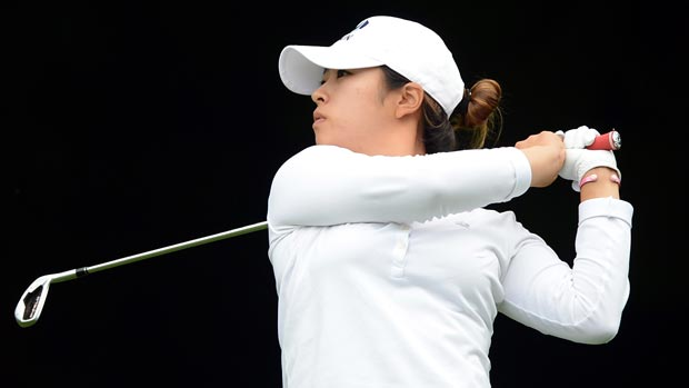 Mindy Kim during the first round of the 2012 CN Canadian Women's Open