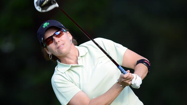 Moira Dunn during the second round of the 2012 CN Canadian Women's Open