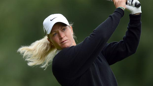 Suzann Pettersen during the second round of the 2012 CN Canadian Women's Open