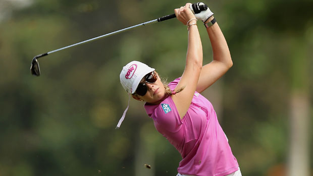 Paula Creamer during the final round at the HSBC LPGA Brasil Cup 2012