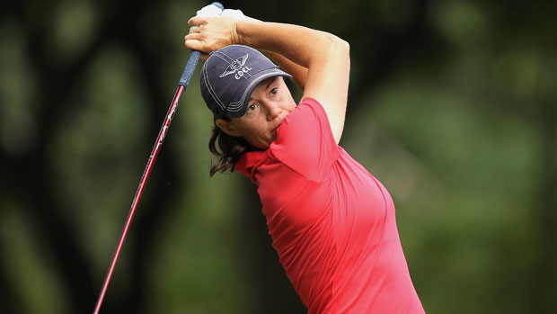 Katie Futcher during the final round at the HSBC LPGA Brasil Cup 2012