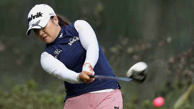 Jeong Jang during the final round at the HSBC LPGA Brasil Cup 2012