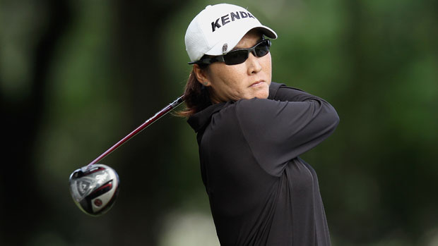 Candie Kung during the final round at the HSBC LPGA Brasil Cup 2012