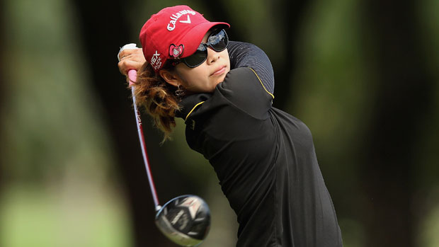 Pornanong Phatlum during the final round at the HSBC LPGA Brasil Cup 2012