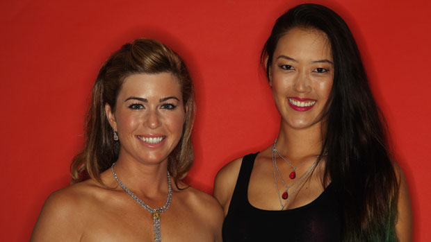 Paula Creamer and Michelle Wie