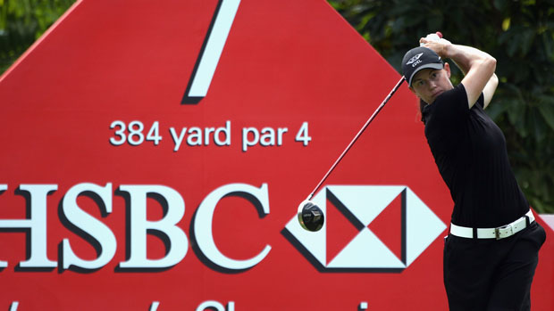 Katie Futcher at the HSBC Women's Champions 2012