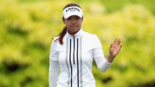Jenny Shin in the HSBC Women's Champions 2012