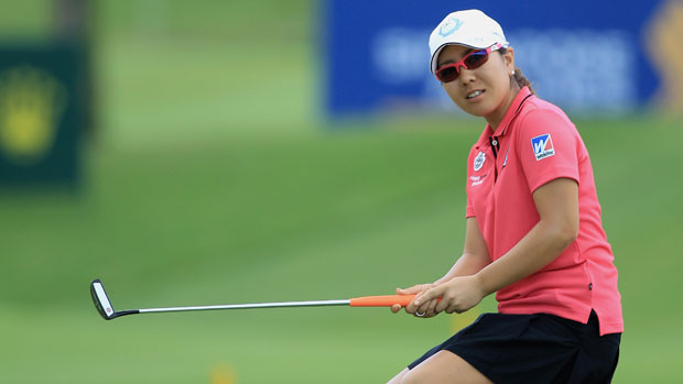 Mika Miyazato at the HSBC Women's Champions 2012