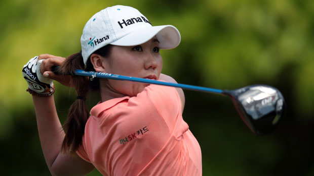 I.K. Kim at the HSBC Women's Champions 2012